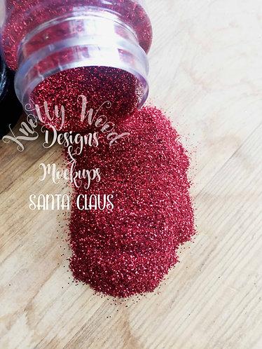 Santa Claus Glitter / Extra Fine Red Glitter / 1/128 glitter / Christmas Glitter