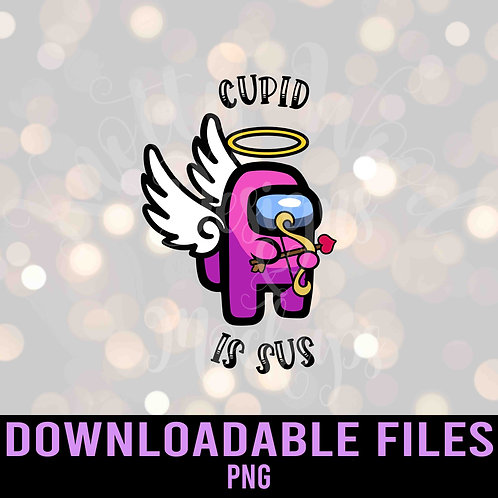 Cupid is Sus PNG ONLY  - Downloadable File