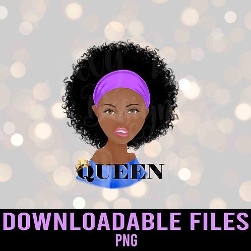 Queen PNG - Downloadable File