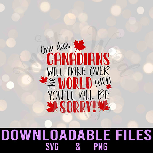 You'll all be sorry SVG & PNG - Downloadable Files