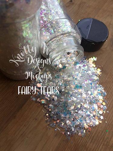 Fairy Tears Glitter / Chunky Glitter / Christmas Glitter / White Glitter