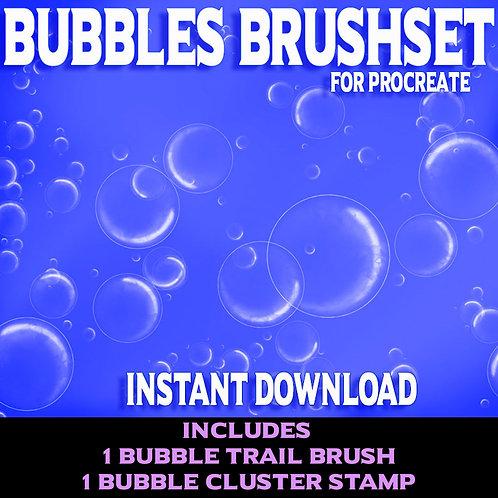 Bubble Brushset for Procreate