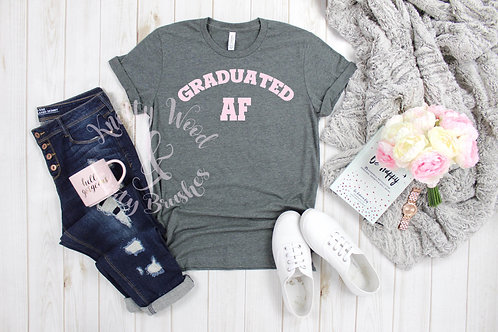 Graduated AF T-shirt style 2 (Small to XL)