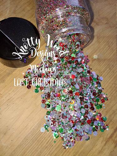 Last Christmas Glitter / Green Chunky Glitter / Red Chunky / Christmas Glitter