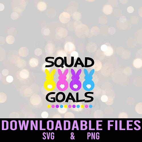 Squad goals SVG  - Downloadable File