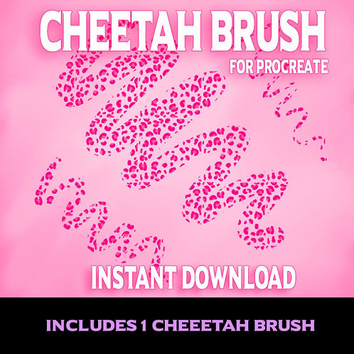 Cheetah Brush & Stamp for Procreate
