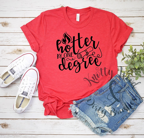 Hotter by One Degree T-shirt (XXL to 4XL)