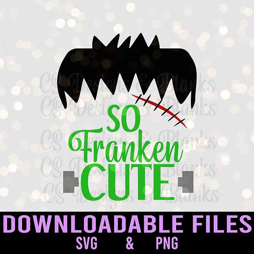 So Franken Cute - Downloadable Design