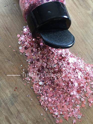 So Fancy / Chunky Mix Glitter / Pink Glitter