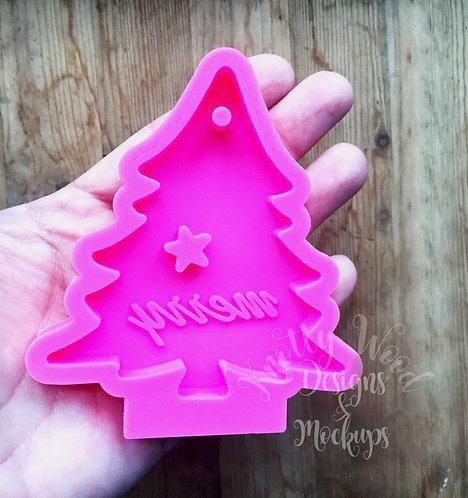 Christmas tree silicone Mold / Christmas Ornament Mold