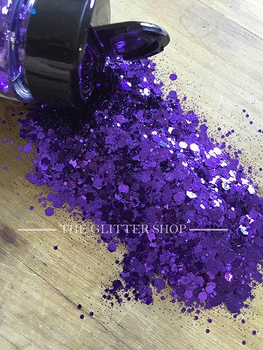 Purple Magic / Chunky Mix Glitter / Purple Glitter
