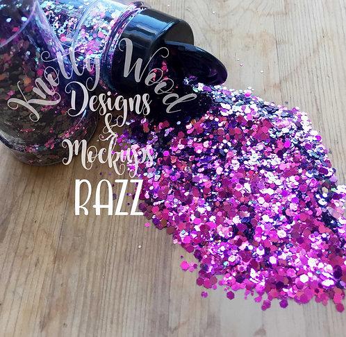 Razz Color Shift Chunky mix Glitter