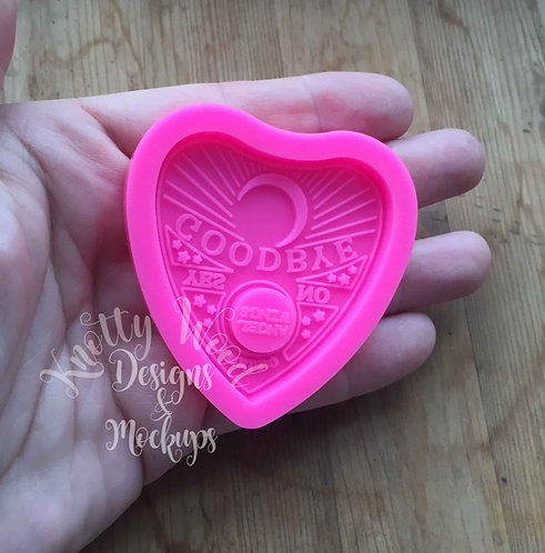 Ouija silicone Mold / Ouija Keychain Mold /Halloween mold