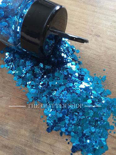 Lagoon / Chunky Mix Glitter / Blue Glitter