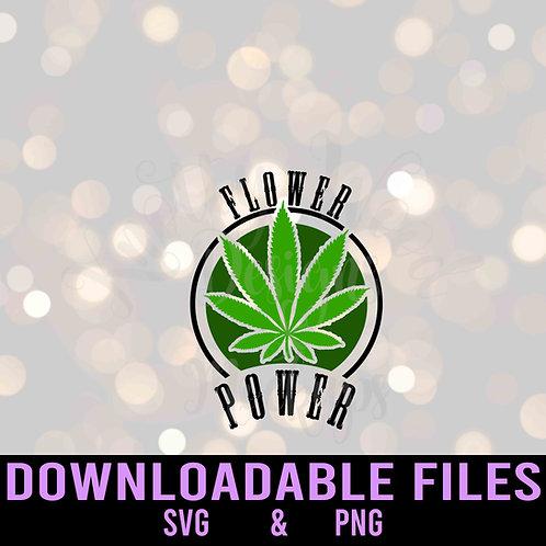 Flower Power SVG - Downloadable file