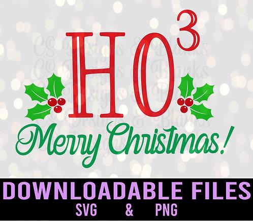 Ho3 Merry Christmas - Downloadable Design File