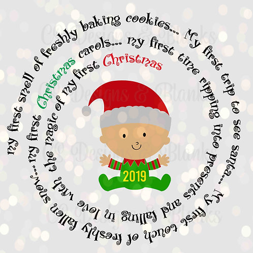 Baby's First Magic of Christmas - Downloadable Design File