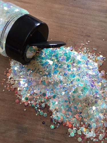 Rave / Glow in the Dark Chunky Mix Glitter