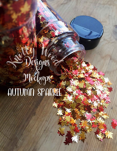 Autumn Sparkle Glitter / Maple Leaf Glitter