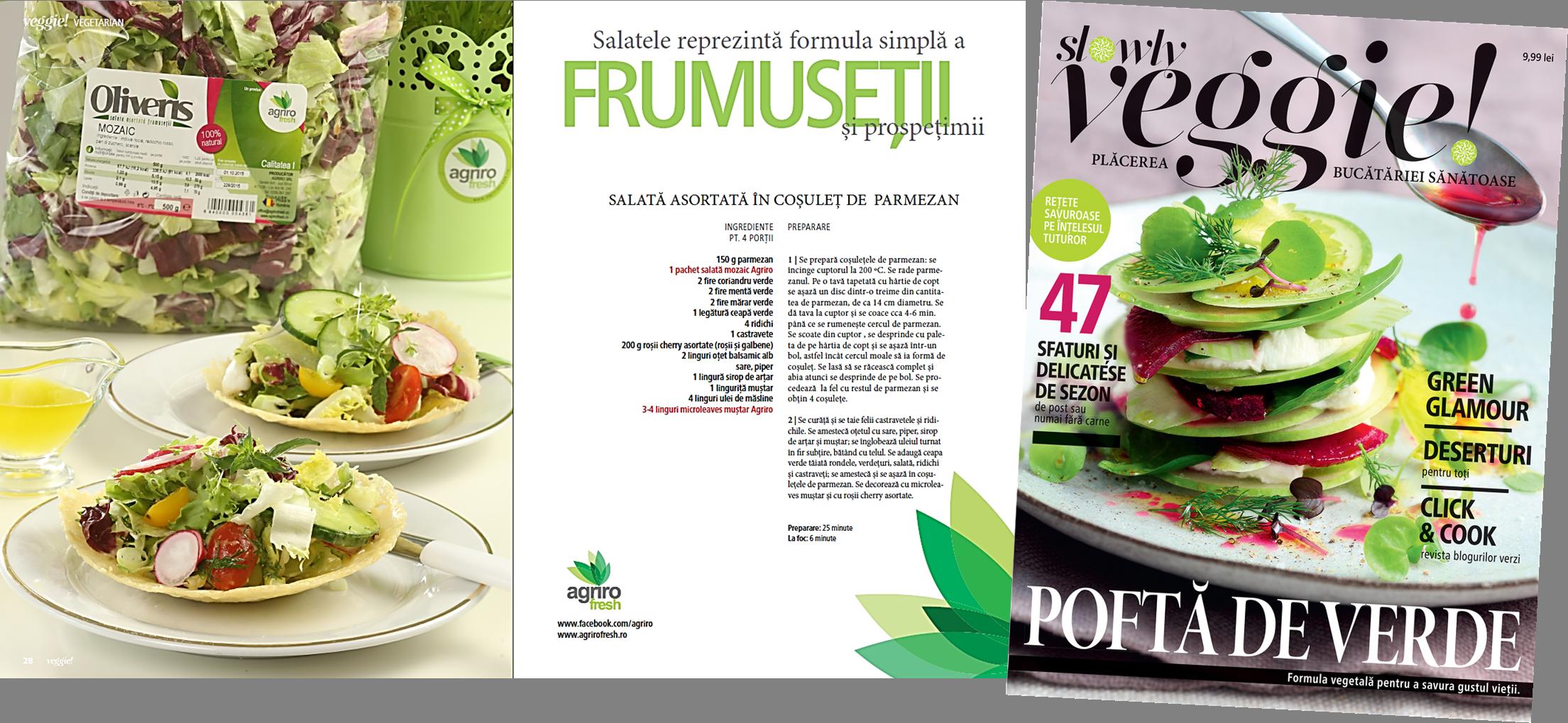 Proiect Revista Slowly Veggie
