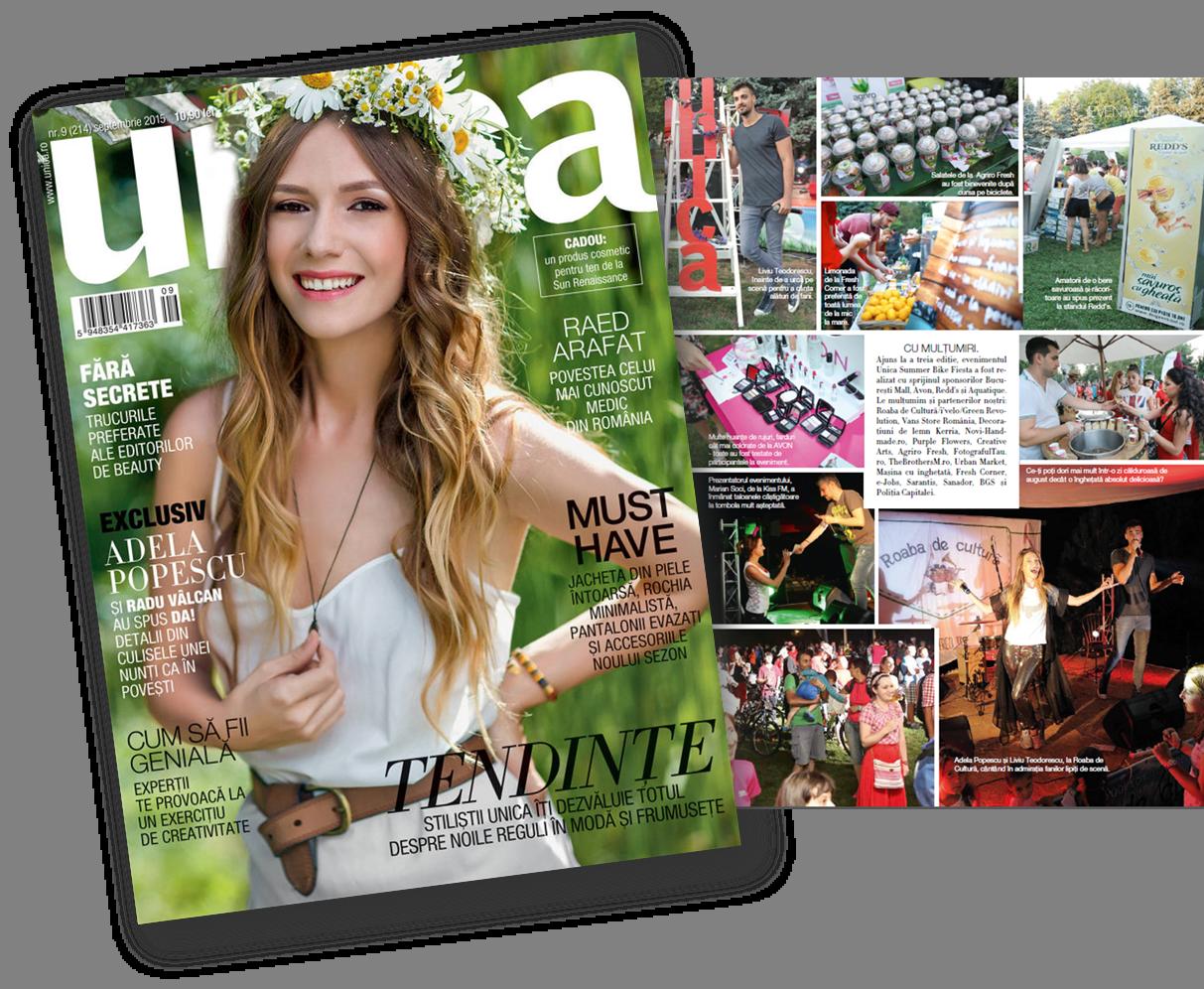 Revista Unica Septembrie 2015