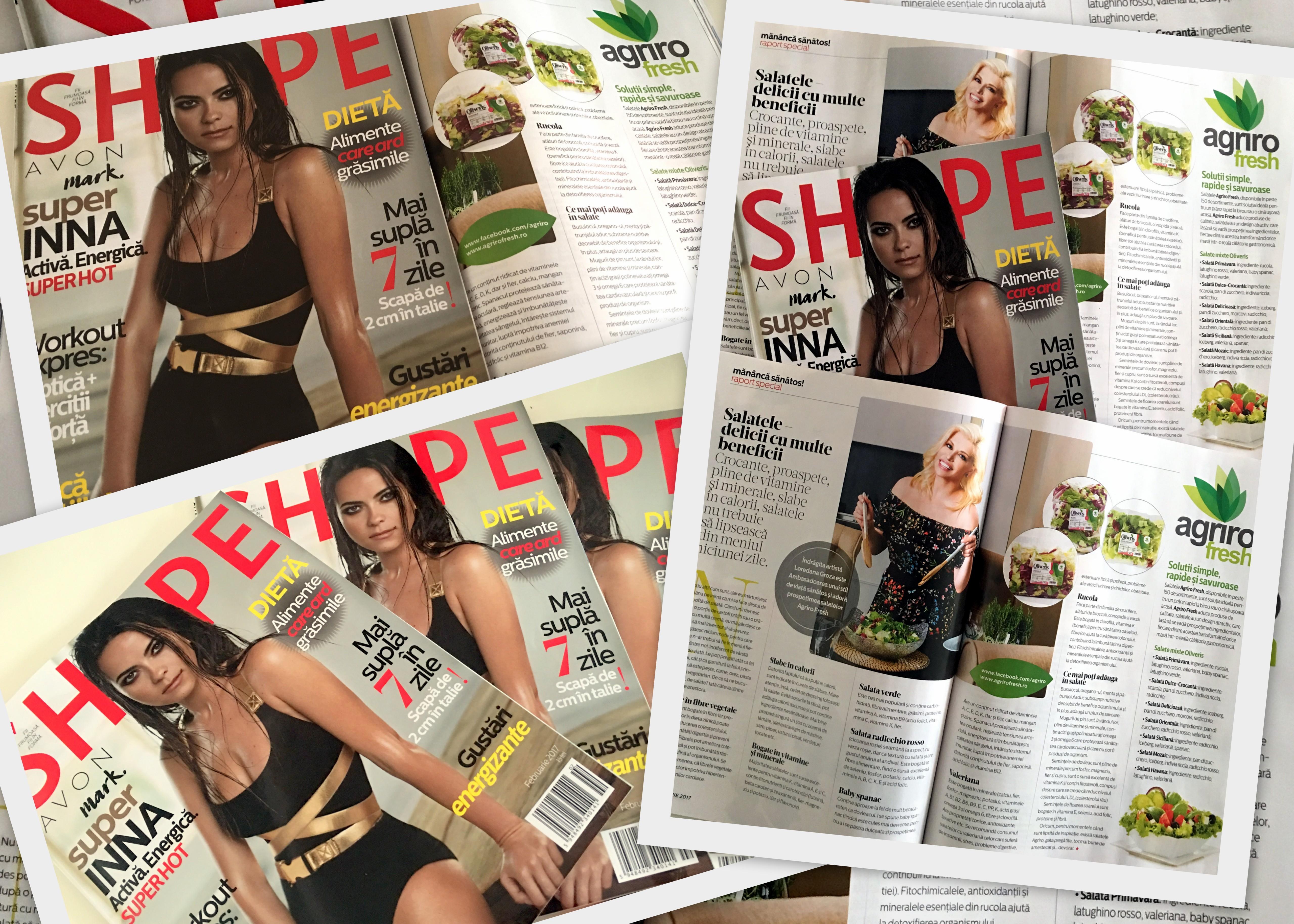 Proiect Special Revista Shape