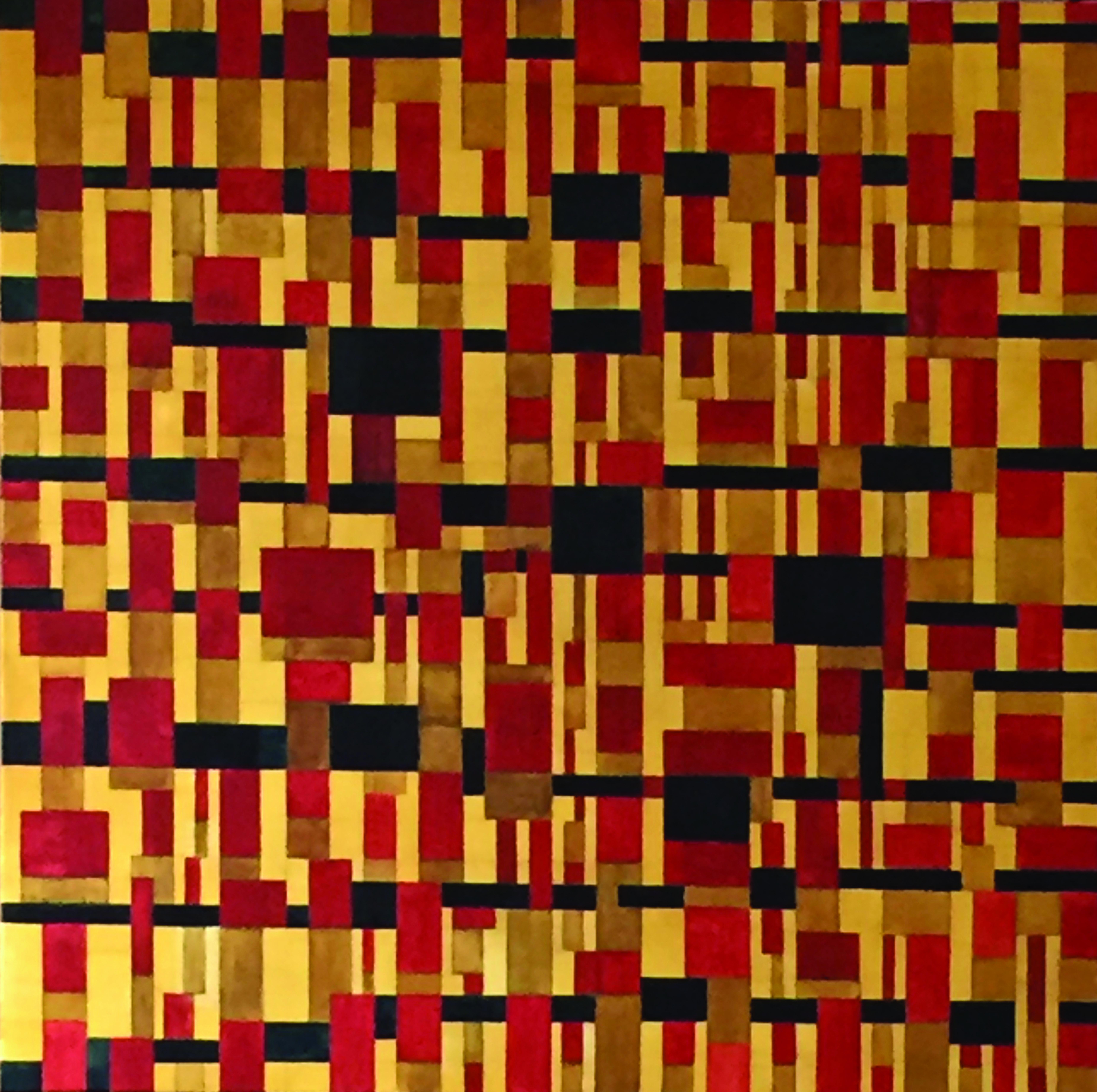 Gold + Rot + Schwarz Kopie