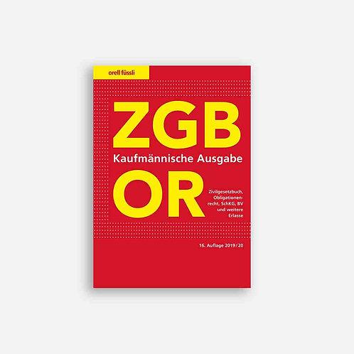 ZGB/OR Kaufmännische Ausgabe