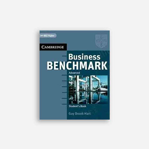Business Benchmark Advanced Higher - Student Book