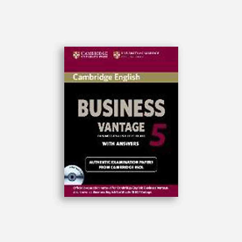 Cambridge English Business 5. Vantage. Self-study with answere
