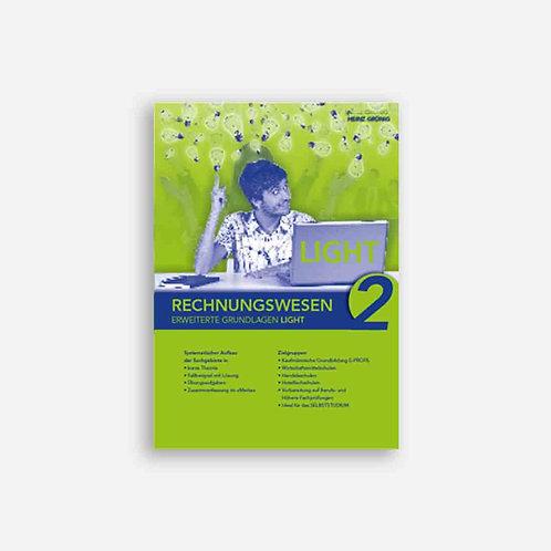 Rechnungswesen 2. Erweiterte Grundlagen Light. Lehrbuch