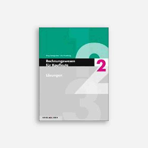 Rechnungswesen für Kaufleute 2 - Lösungen, Bundle inkl. PDF