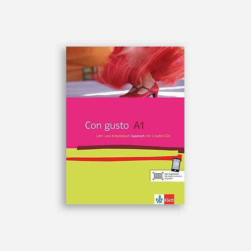 Con gusto A1. Spanisch. Lehr- und Arbeitsbuch mit CDs