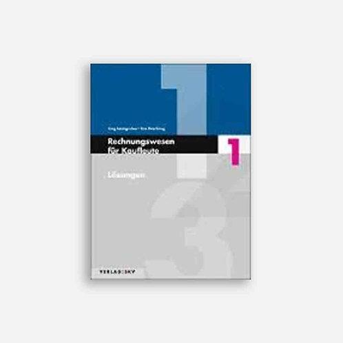 Rechnungswesen für Kaufleute 1 - Lösungen, Bundle inkl. PDF