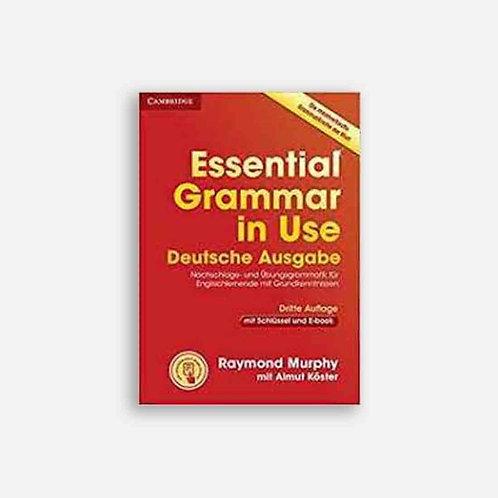 Essential Grammar in Use. Deutsche Ausgabe