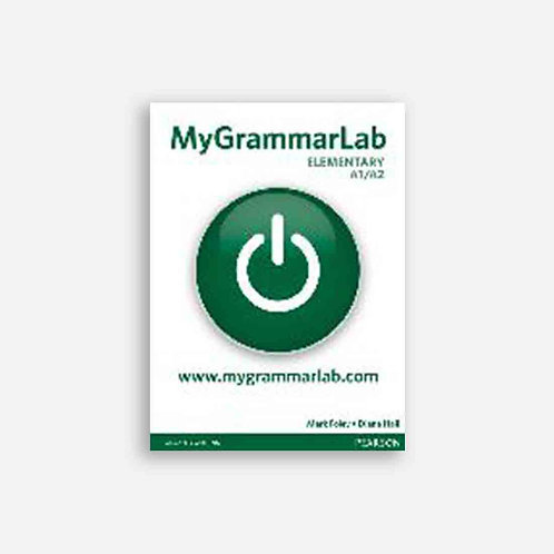 MyGrammarLab Elementary (A1/A2) Student Book (no Key) and MyLab