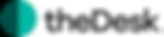 theDesk Logo_white background_horizontal