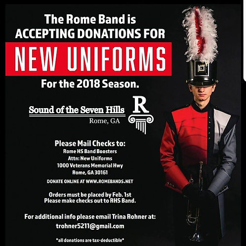 Donate $10 or more to Uniform Fund