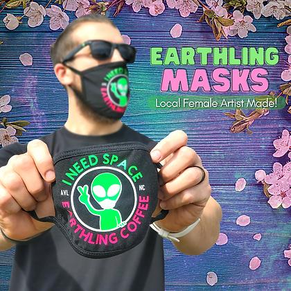 'I Need Space' Mask