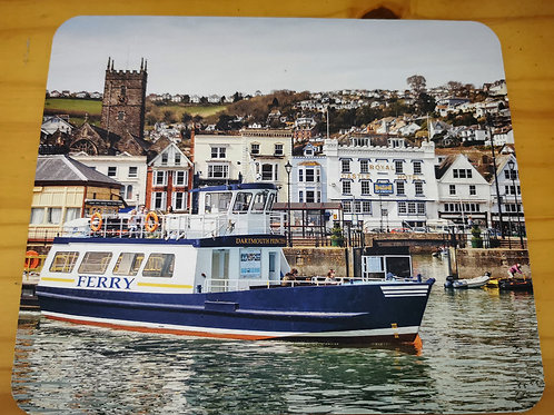 Dartmouth Mousemat - The Passenger Ferry/The Quay