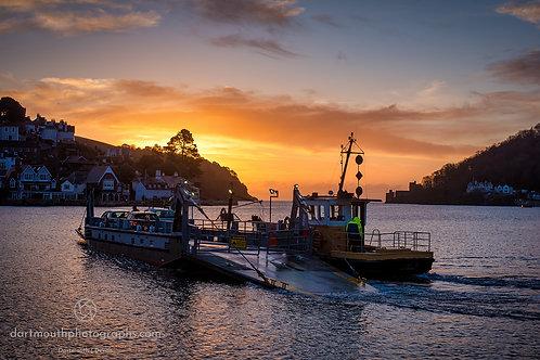 Sunrise Ferry Crossing.