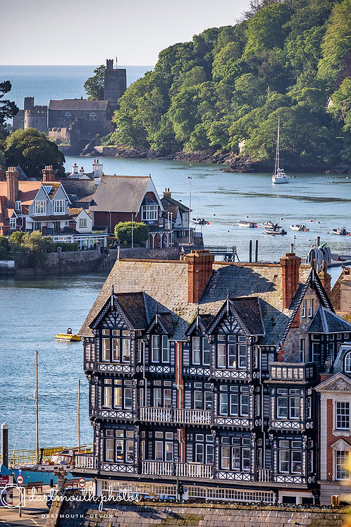 York House to Dartmouth Castle 1,000 piece Jigsaw Puzzle