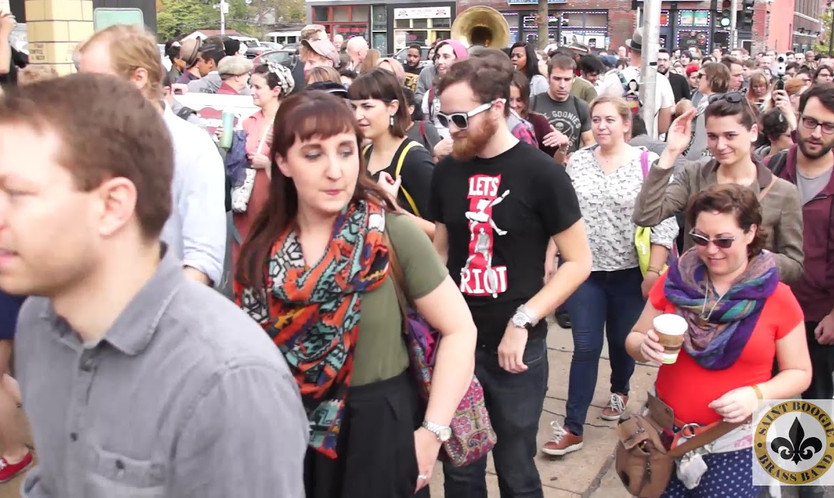 Saint Boogie Brass Band Cherokee Street Jazz Crawl