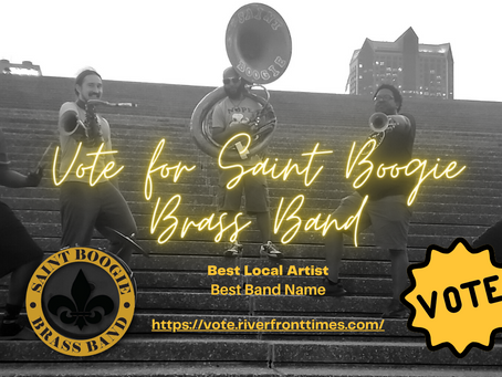 Vote for Saint Boogie Brass Band - Best of St. Louis - Riverfront Times