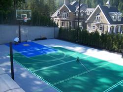 Badminton and Basketball