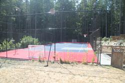 15 foot high Ball Containment Net