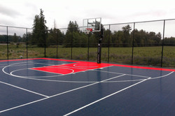 Basketball court in Abbotsford