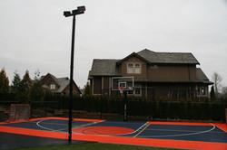 Halfcourt basketball