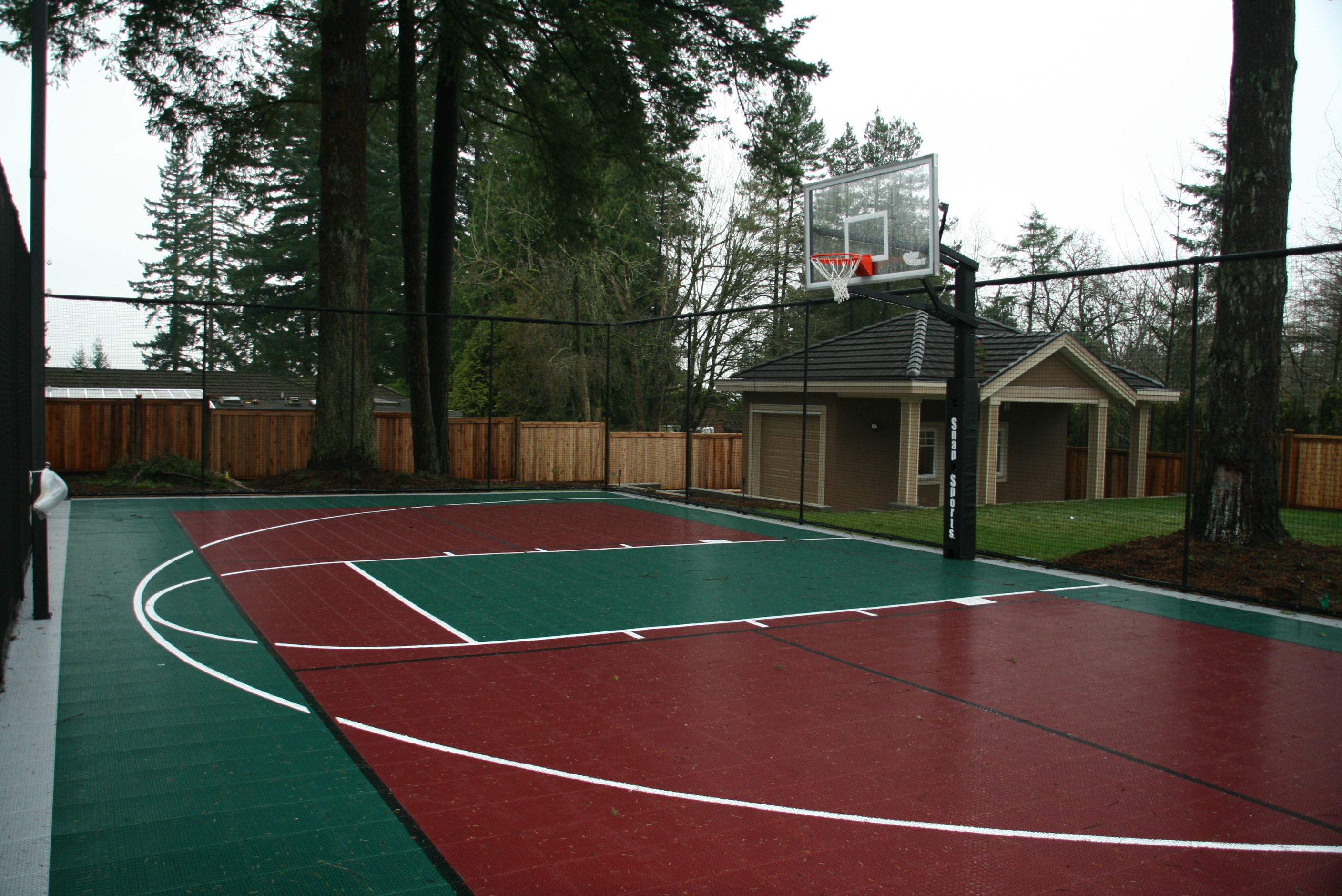 Basketball & badminton court Surrey
