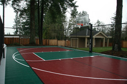 Basketball & badminton court Surrey
